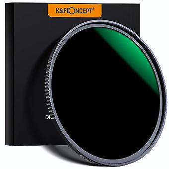 K&f concept 67mm fixed nd filter nd1000 10 stops, neutral density lens filter multi-coated optical g