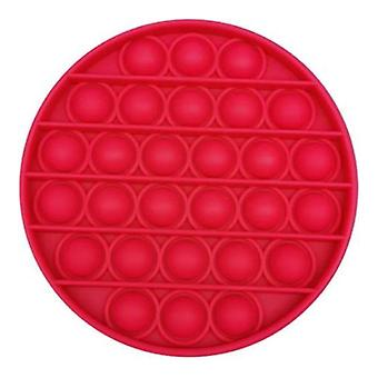 Stuff Certified® Pop It - Fidget Anti Stress Toy Bubble Toy Silicone Red