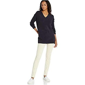 Brand - Daily Ritual Women's Mid-Gauge Stretch V-Neck Pullover Sweater