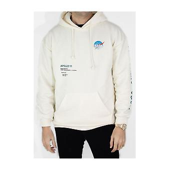 NASA straight-cut hooded sweatshirt