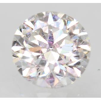 Certificado 0,67 Quilate D VVS2 Redondo Brilhante Diamante Natural Aprimorado 5.39mm 3VG