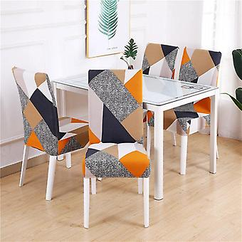 Chair Cover Dining Elastic Chair Covers Spandex Stretch Elastic Office Chair