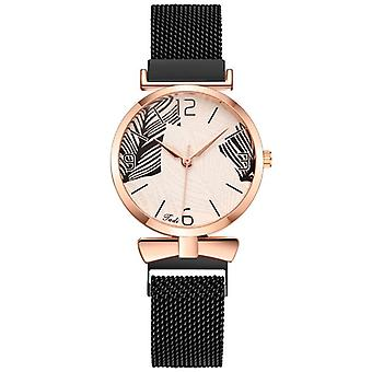 REBIRTH 440 Casual Style Ladies Wrist Watch Fashionable Full Steel Quartz Watch
