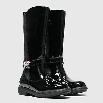 Lelli kelly girls unicorn black boots