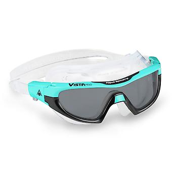 Aqua Sphere Vista PRO Swim Goggles - Smoke Lenses Teal