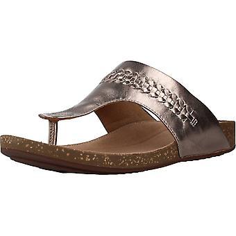 Clarks Sandals A Perri Vibe Colore Metallico Oro