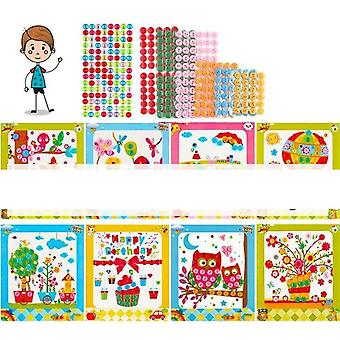 Button Stickers Drawing Toy