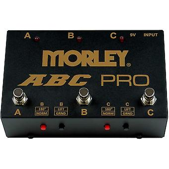 Morley abc pro 3-button switcher combiner pedal