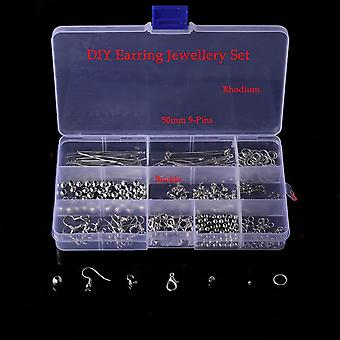 Mixed Styles Diy Jewelry Findings Beads Cup Earring Hook Jump Ring