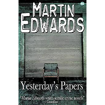 Yesterday's Papers by Martin Edwards - 9781782342489 Book