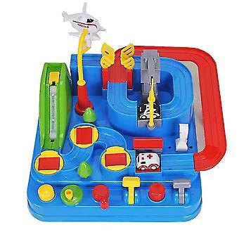 Vonat készlet gyerekek játékok autótanulás oktatási játékok játékpálya kiegészítők autószett