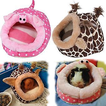 Jaula de cama soft guinea pig house para hamster mini animal
