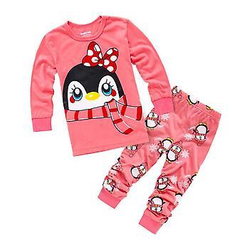Lapset Infantil Sleepwear Kodin vaatteet Sarjakuva Puuvilla Vauva Pijama
