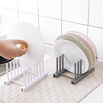 New Under Sink Bowl Plate, Dish Drainer Rack, Plastic Lid Cover