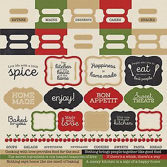 Kaisercraft - Bon Appetit Sticker Sheet