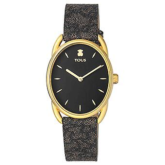 Tous watches dai watch for Analog Quartz Woman with Cowhide Bracelet 100350440