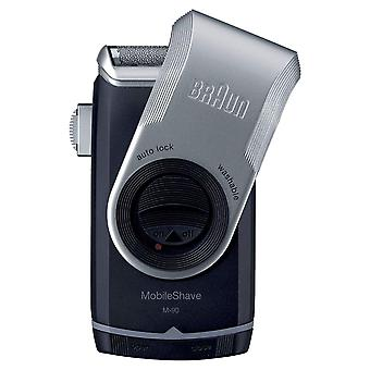 Braun M90 Mobile Shave Ultra Flexing Smart Foil Shaver Battery Operated Portable