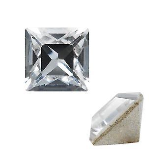 Swarovski Crystal, #4428 Square Fancy Stone 2mm, 10 kappaletta, Crystal F