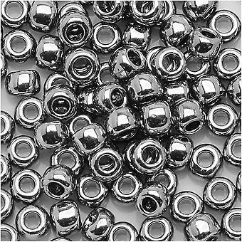 Toho Round Seed Beads 6/0 #711 - Nickel (8 Grams)