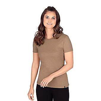 Trigema 502201 T-Shirt, Walnut Melange, M Kvinna