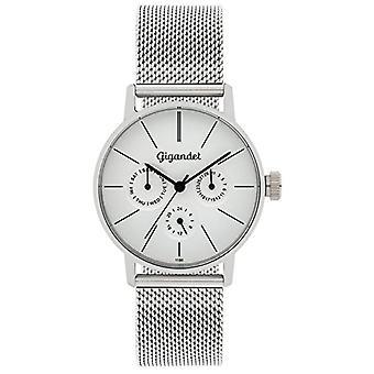 Gigandet G38 - 005 - Women's watch, silver stainless steel strap