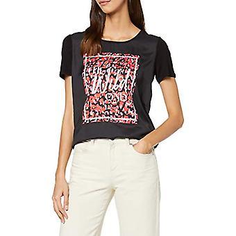 Garcia L90003 T-Shirt, Multicolored (Black 60), X-Small Woman