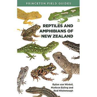Reptiles and Amphibians of New Zealand by Dylan Van WinkelMarleen BalingRod Hitchmough