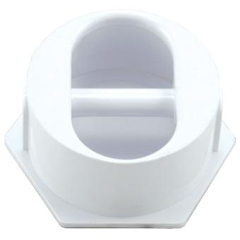 Анкер тросовый пользовательские 25567-000-000 с пластиковым штифтом - белый