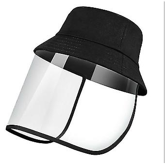 28Cm * 25 سم * 1 سم قبعة الشمس في الهواء الطلق الأسود للرجال والنساء x5092