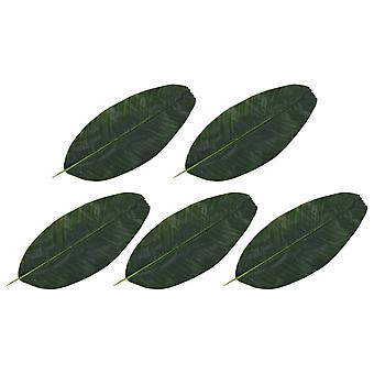 Kunstbladeren Banaan 5 St 62 Cm Groen