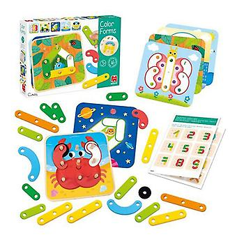 Educational Game Color Forms Diset 53474