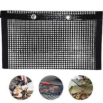Mesh Grill Bags - Reusable Grilling Pouches For Charcoal, Gas, Electric Grills & Smokers