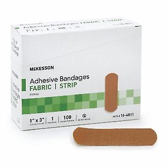 McKesson Adhesive Strip, 1 X 3 Inch, Tan, Cassa di 2400