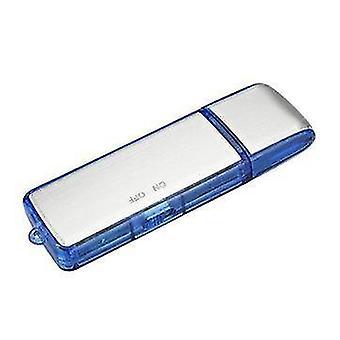 2 in 1 Mini 8GB USB 2.0 Digital Voice Recorder Wiederaufladbare Aufnahme