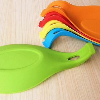 Spatula Tool Spoon Mat, Dish Holder Silicone Pad