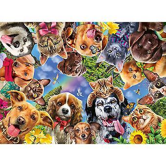 Ravensburger Animal Selfies Palapeli (500 kappaletta)