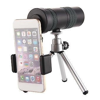 8-24X30 Zoom Monokular Dual Focus HD Optik BAK4 Tag Nachtsicht Teleskop + Smartphone Adapter + Stativ