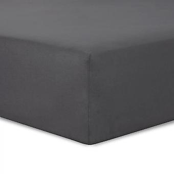 Fitted Sheet 160x200cm Anthracite
