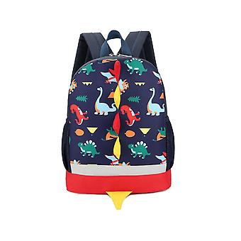 Small Dinosaur Print Backpack For School & College