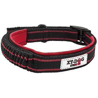 Xt-Dog Nylon Double up Nylon Double up Collar Black and Red