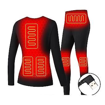 Women Men Electric Heated Usb Battery Powered Underwear