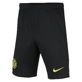 2021-2022 Chelsea Away Shorts (Black) - Kids