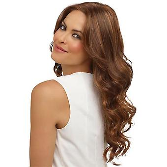 Homemiyn Pastel Wavy Wig,women's Golden Brown Wig Curly Wavy Shoulder Length For Girl Colorful Costume Wigs