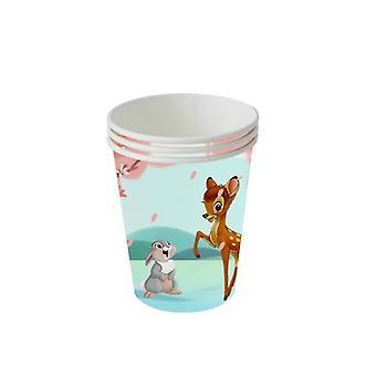 Vauva suihku Bambi syntymäpäivä koristeet metsä eläinjuhla banneri teema