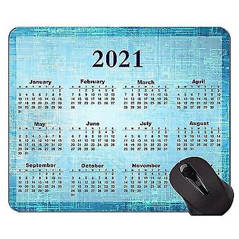 Keyboard mouse wrist rests 260x210x3 2021 calendar hd font with holidays custom original mouse pad colorful themed mouse pads