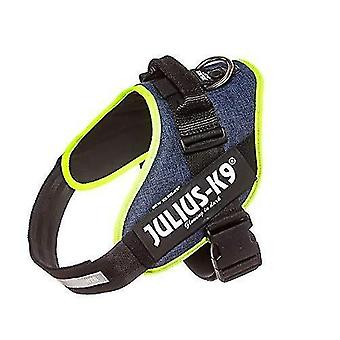 Pet collars harnesses 16idc-farne-2  idc powerharness  dog harness  size: 2  jeans with neon edge