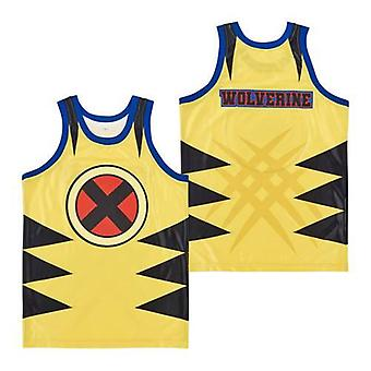 Men Wolverine Claws Tonal Brett Stewart Mens Movie Basketball Jersey S-xxl