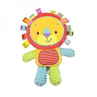 Venalisa Puzzle I kojące pluszowe zabawki dla dzieci, odpowiednie dla dzieci w wieku 0-12 miesięcy, dzwonki, grzechotki-c