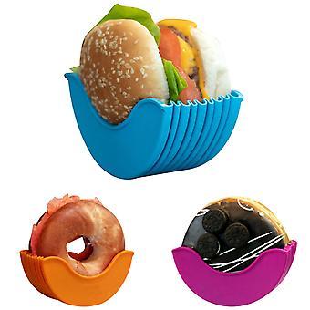 Original Burger Holder Hygienic Reusable Hamburger Bun Shell