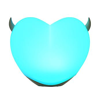 Night Light, Pat Light, Usb Charging, Led Colorful Atmosphere Light, Personalized Creative Decompression, Heart-shaped Romantic Gift For Lovers